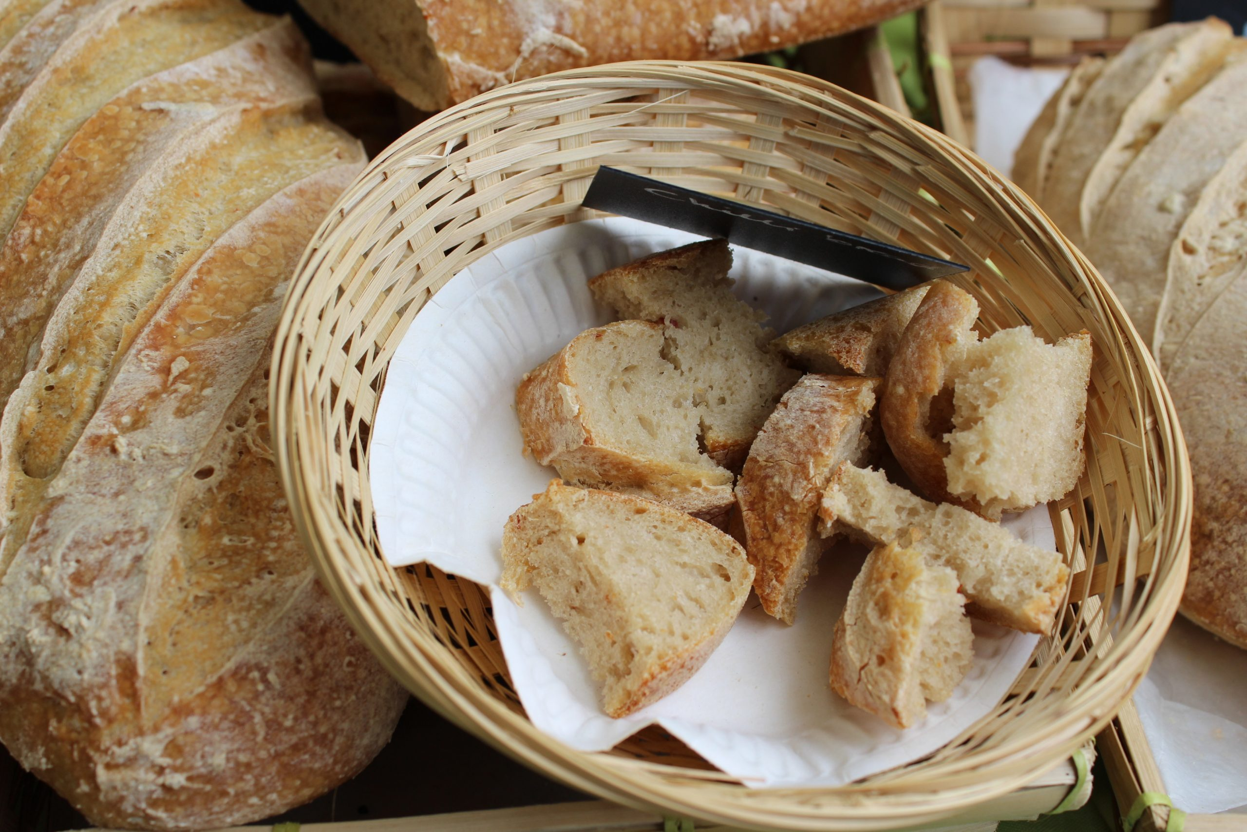 Bread seller Loughton Market