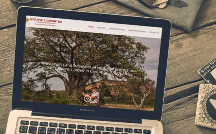 Westervelt Landsurveyors website by EdITCon Digital